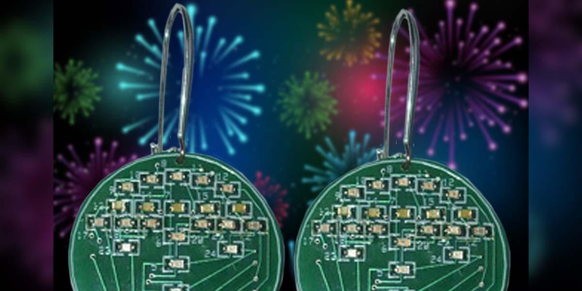 Fireworks Earrings