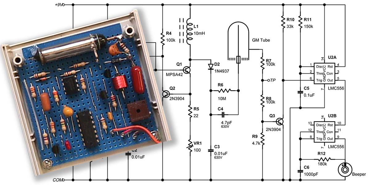 Pocket Geiger Unit