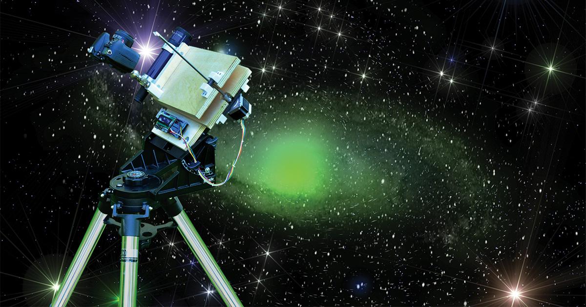 A Barn Door Tracker For AstroPhotography