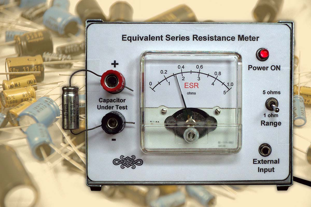 Build An Esr Meter For Your Test Bench Nuts Volts Magazine
