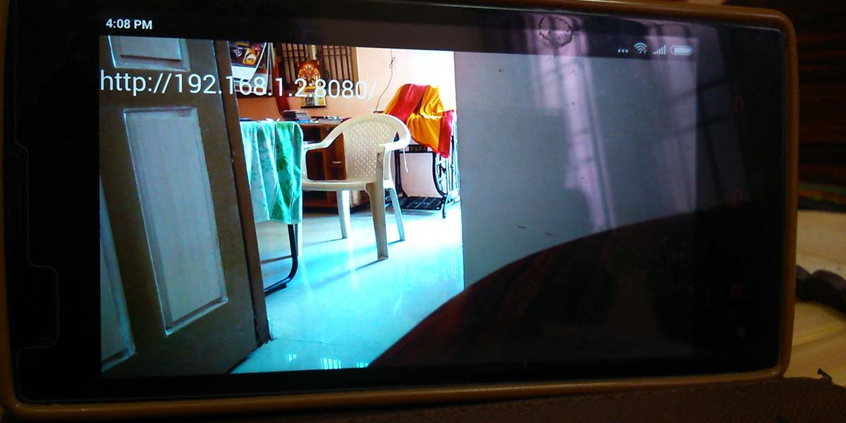 An ESP8266 Live Wi-Fi Webcam