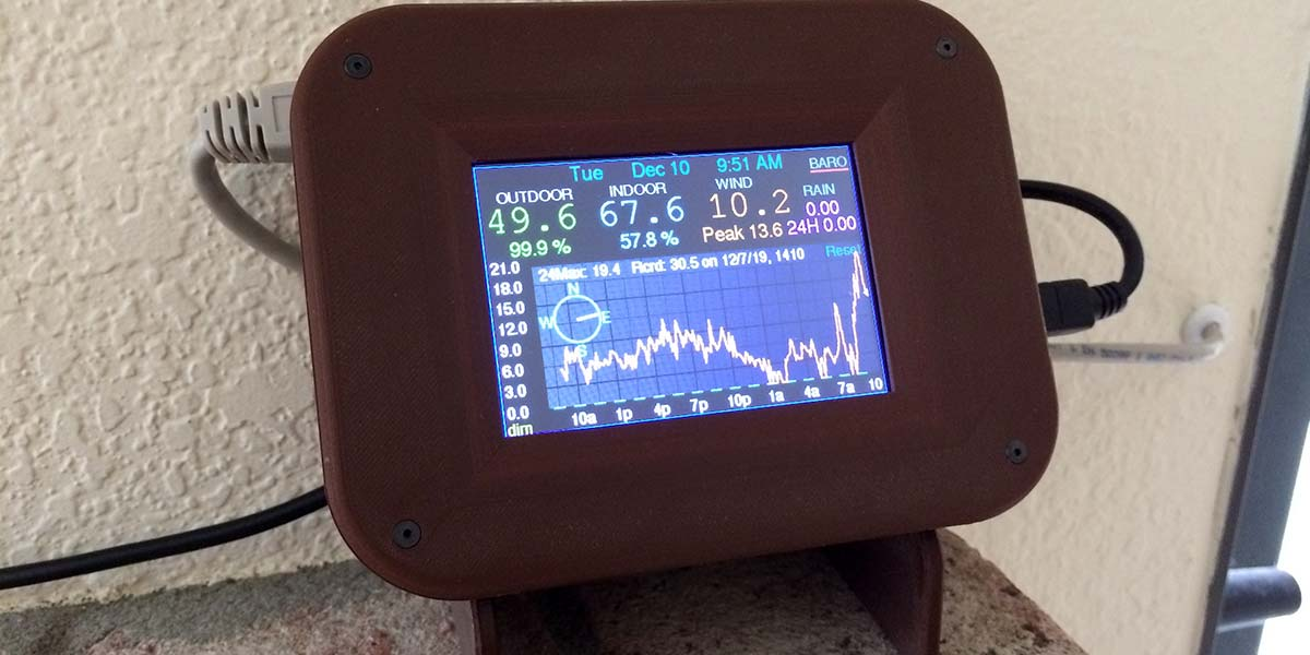 The Graphing Weather Station