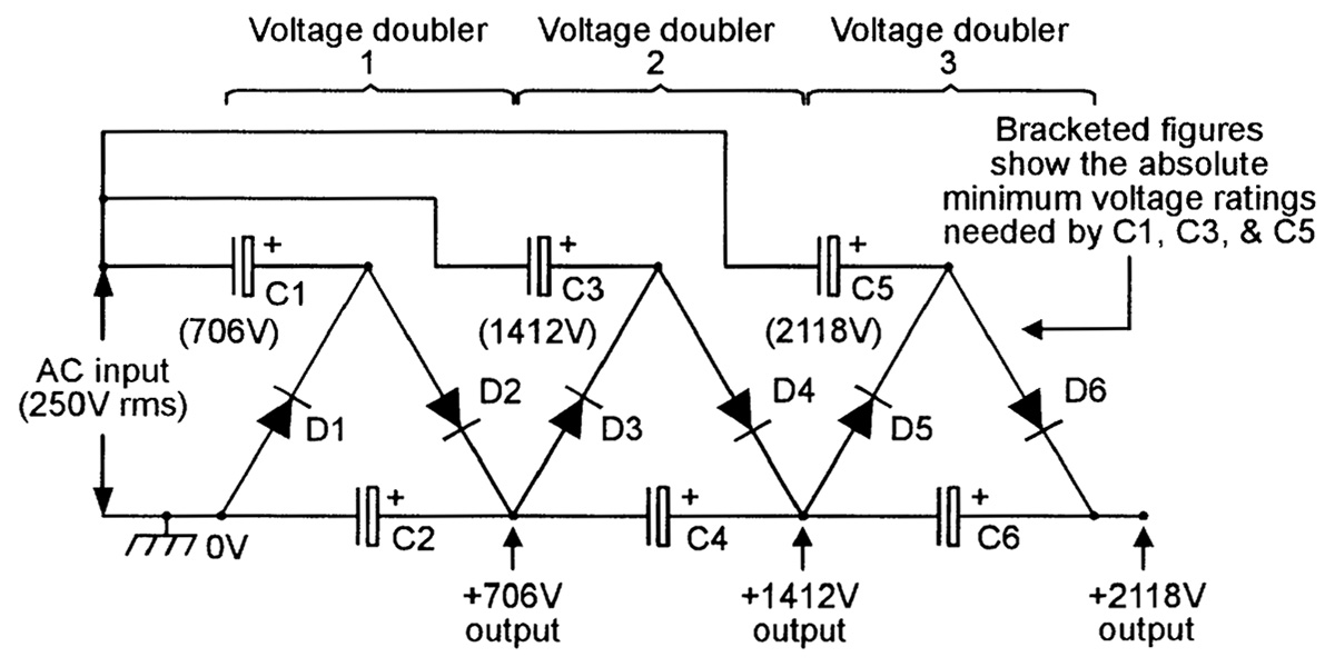 dc voltage converter circuits