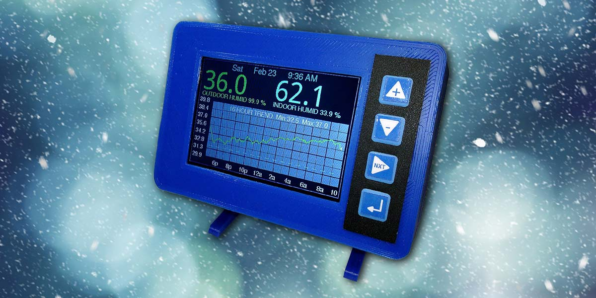 Build the Graphing Thermometer | Nuts & Volts Magazine