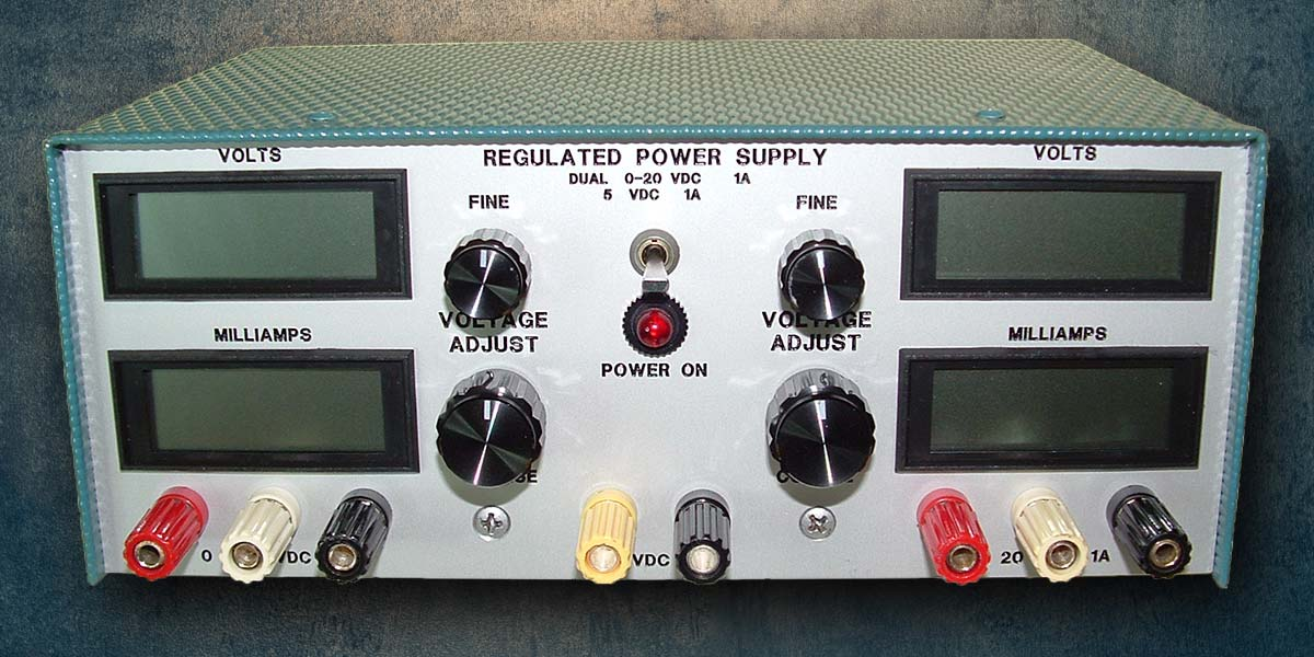 A Test Bench Power Supply