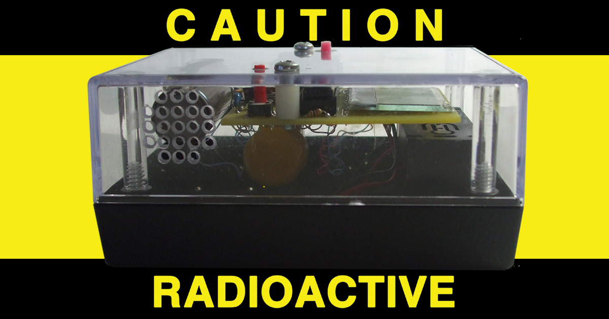 A Recording Radiation Counter
