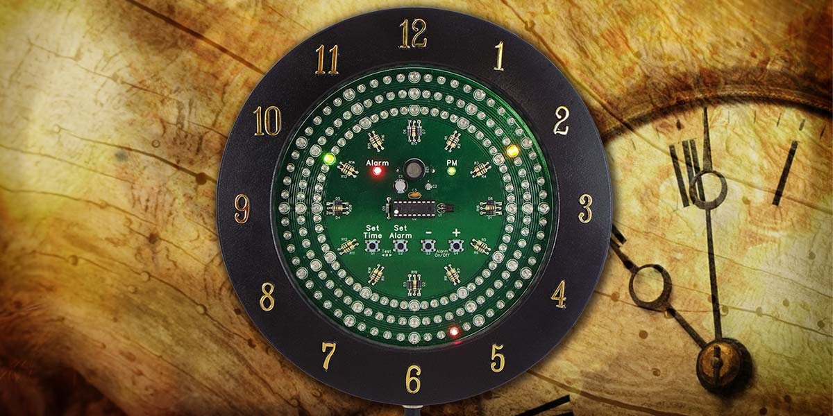Build an Analog-Style LED Clock — Part 1