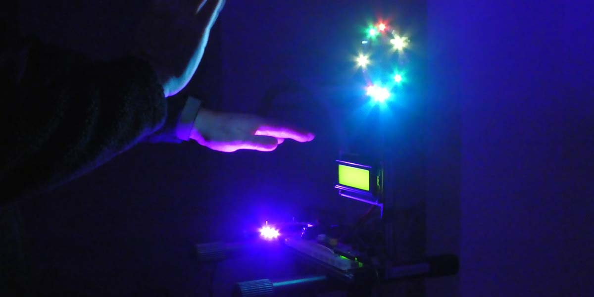 Build the LASERVox MIDI Laser Theremin