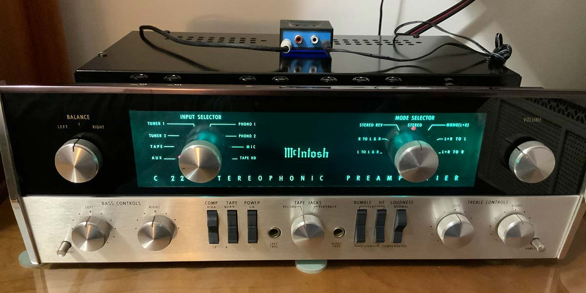 Restoration of an Abused 1965 McIntosh C22 All-Tube Preamp