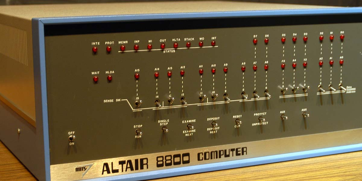 An Altair Clone: Then and Now