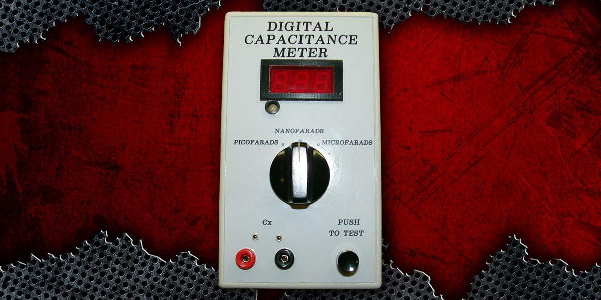 A Digital Capacitance Meter