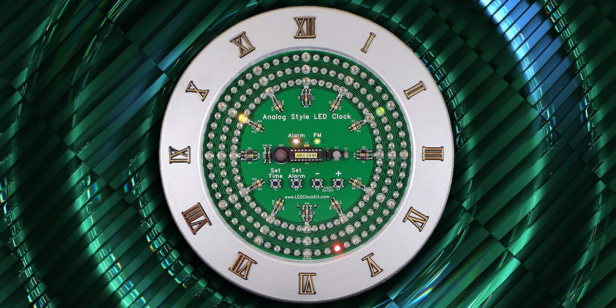 Build an Analog-Style LED Clock — Part 2