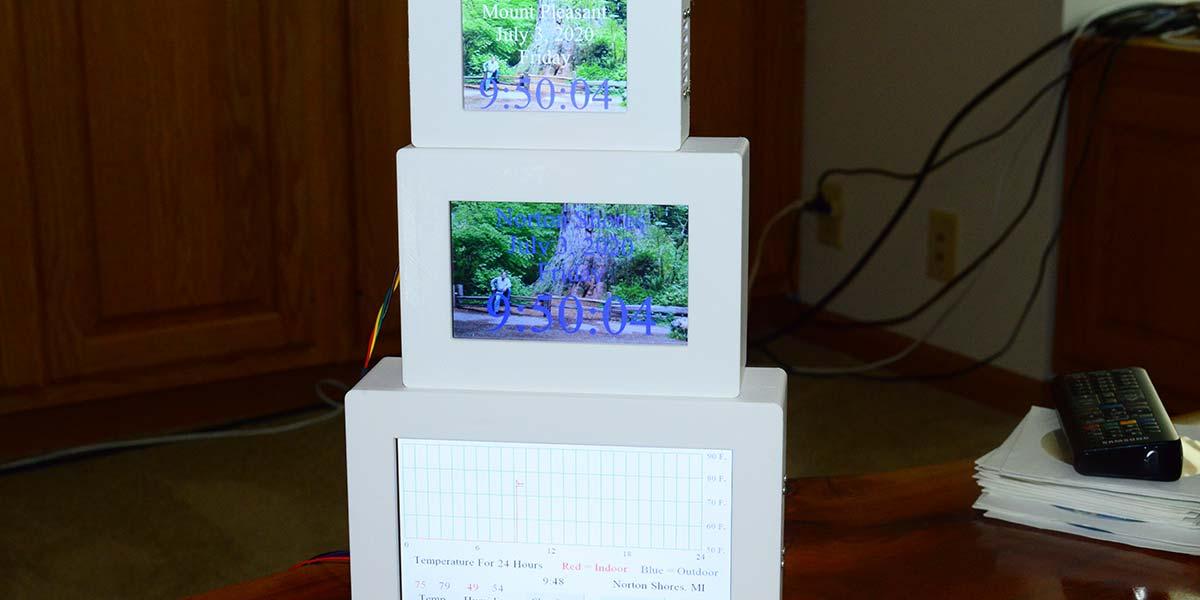 Build a Digital Clock Family Using Nextion Displays