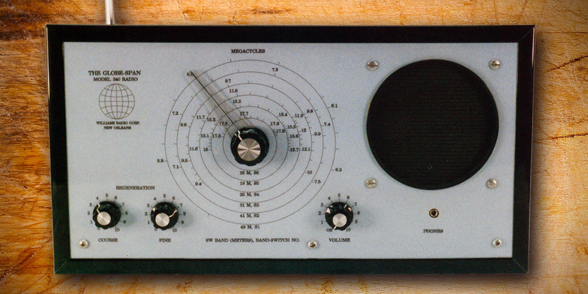 The GlobeSpan World Band Receiver