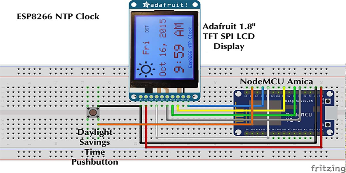 ESP8266 NTP Clock | Nuts & Volts Magazine