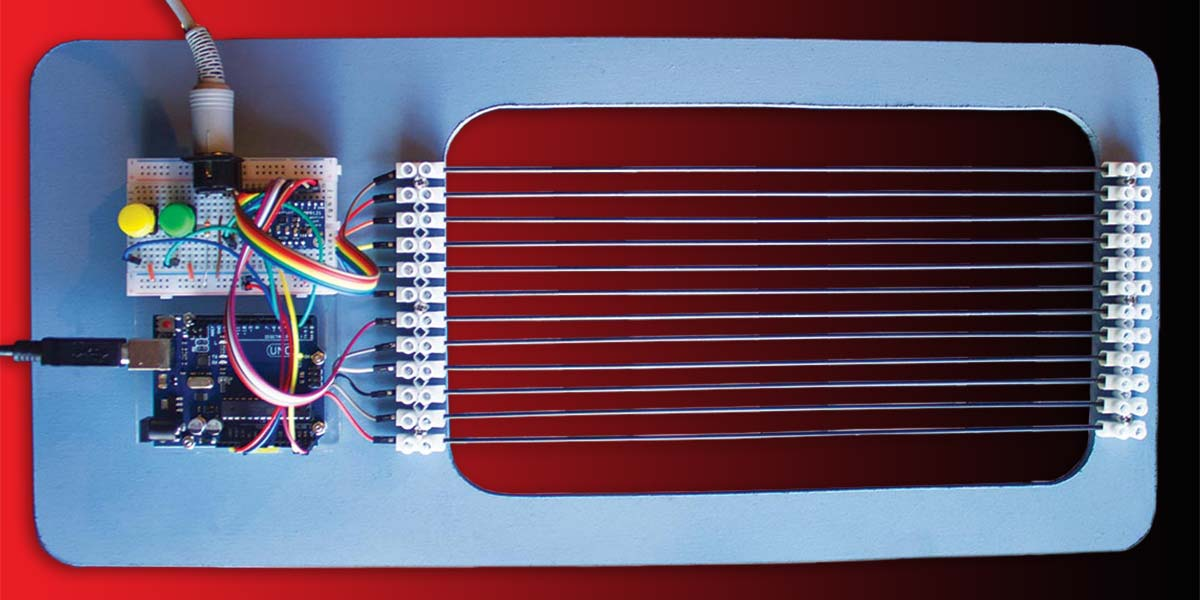 Build A MIDI Lyre