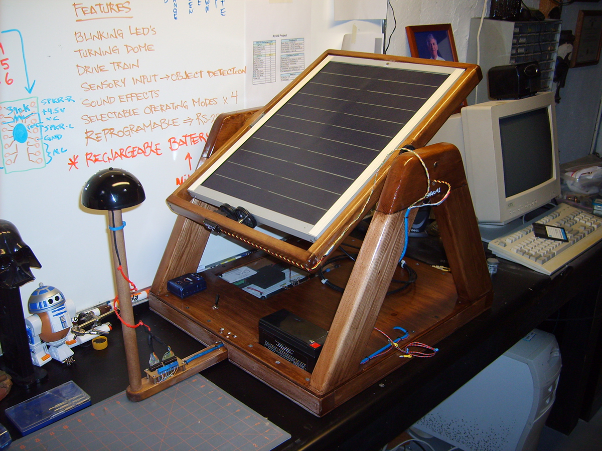 Solar Tracker Nuts Volts Magazine Simple Tracking Circuit Page 2 Electronics Forum Circuits