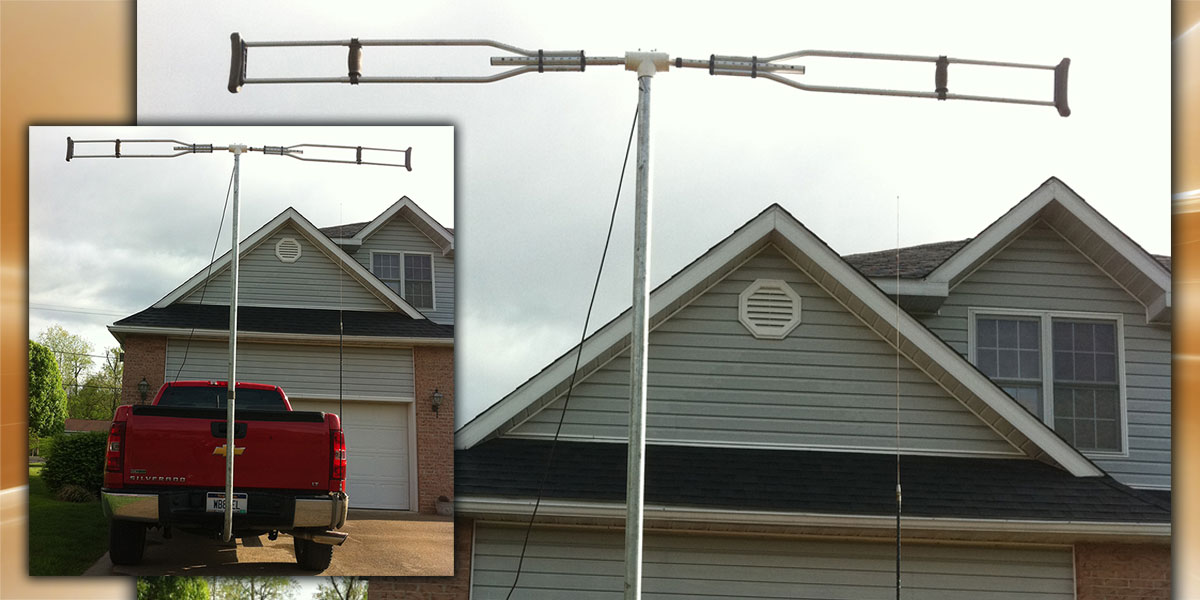 Build a 50 MHz Dipole Out of Crutches