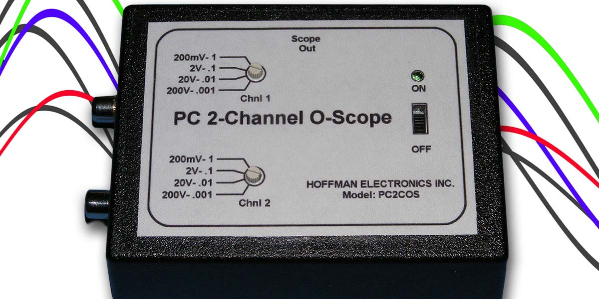Low Cost PC Two-Channel Oscilloscope