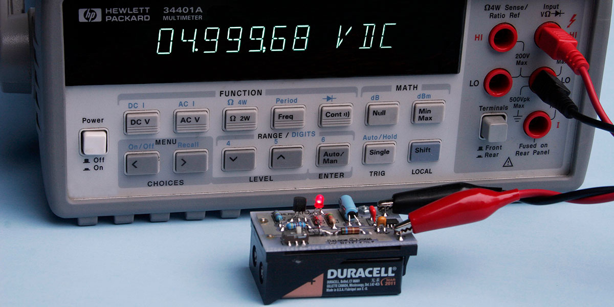 Build A .01% Accurate Voltage Reference