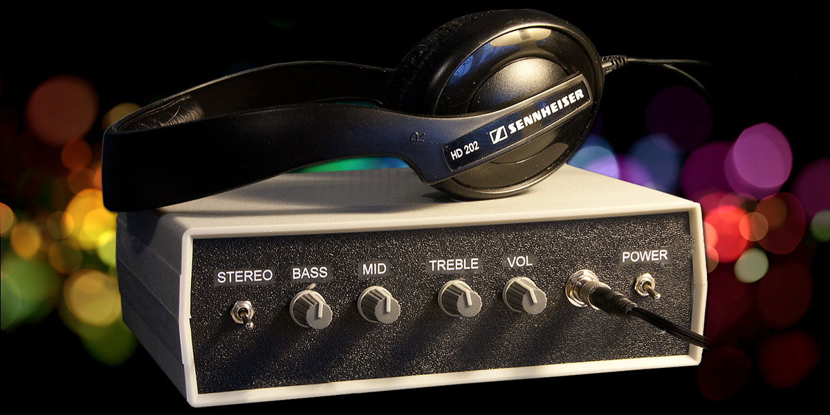 Build a Headset Amplifier