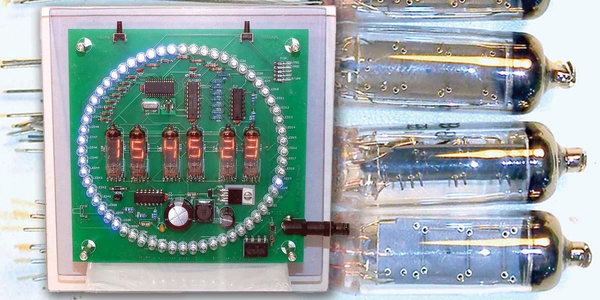 Build the Numitron — A Six-Digit Clock