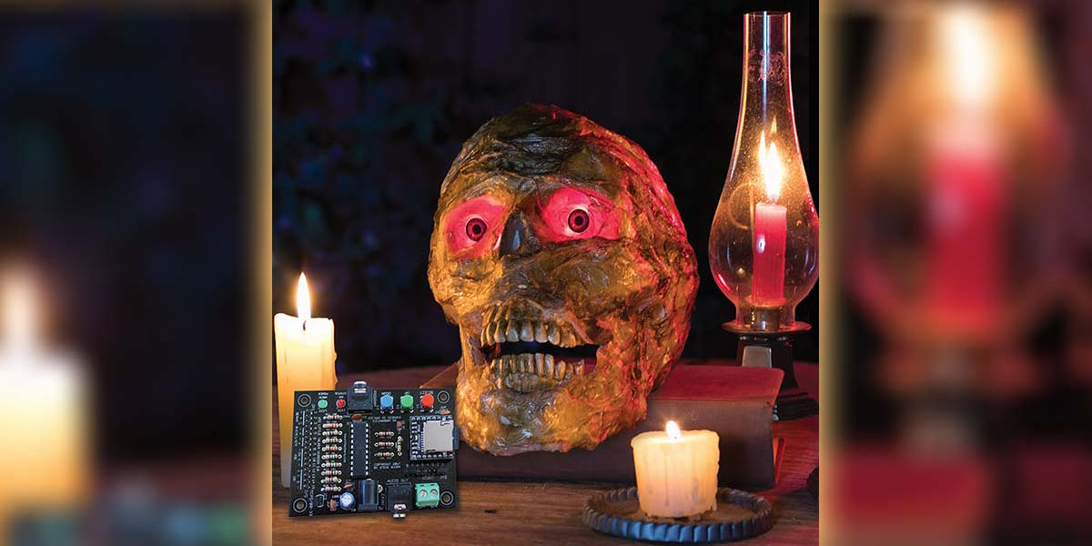 Create the Ultimate Talking Skull with the Wee Little Talker