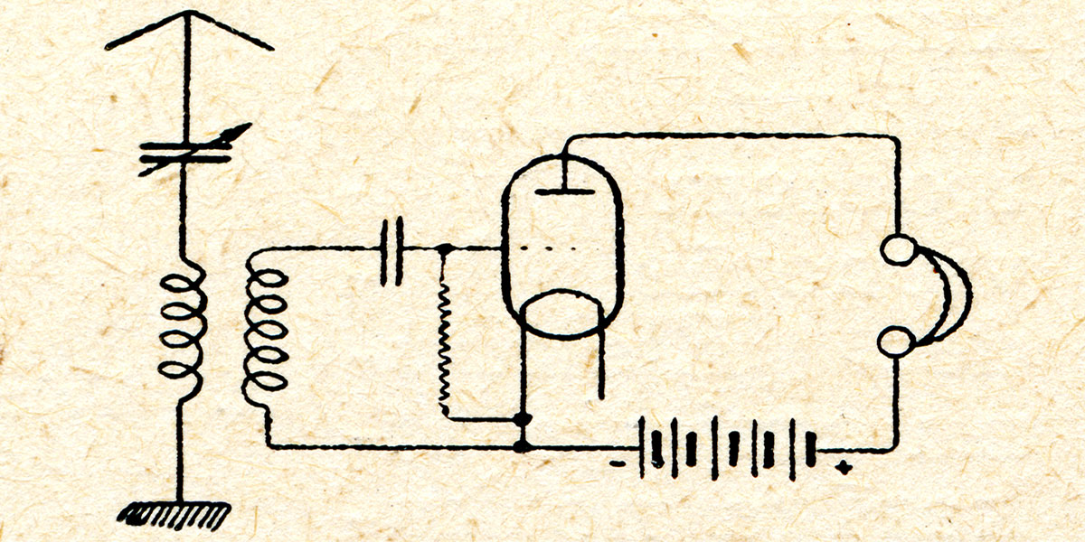 The Triode is 100 Years Old This Year