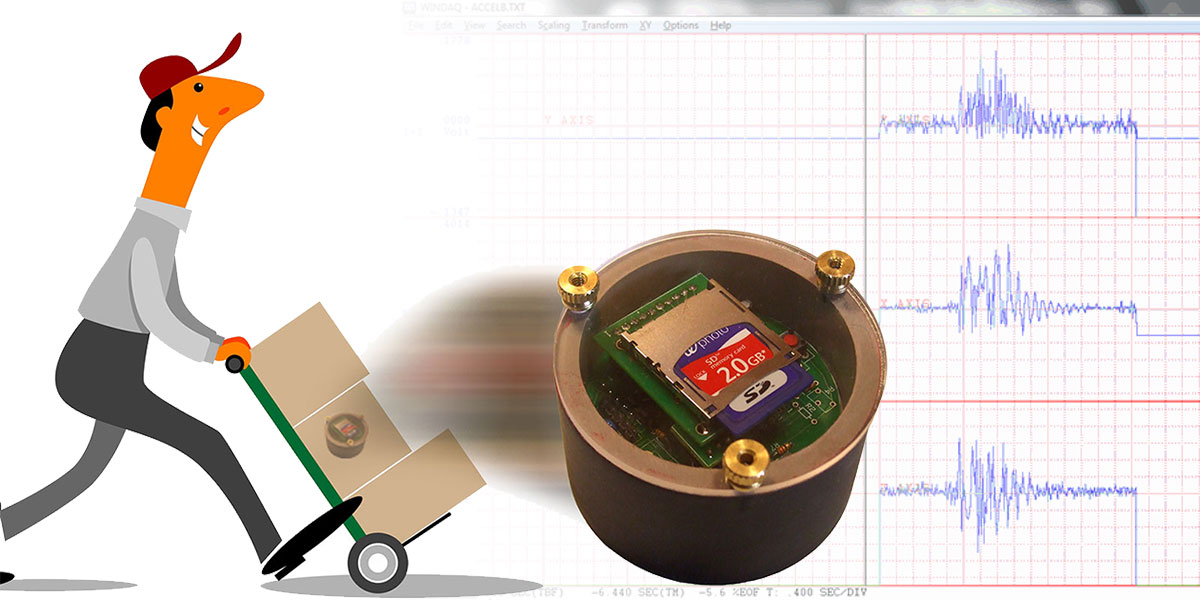 Three-Axis Hockey Puck Accelerometer Data Logger