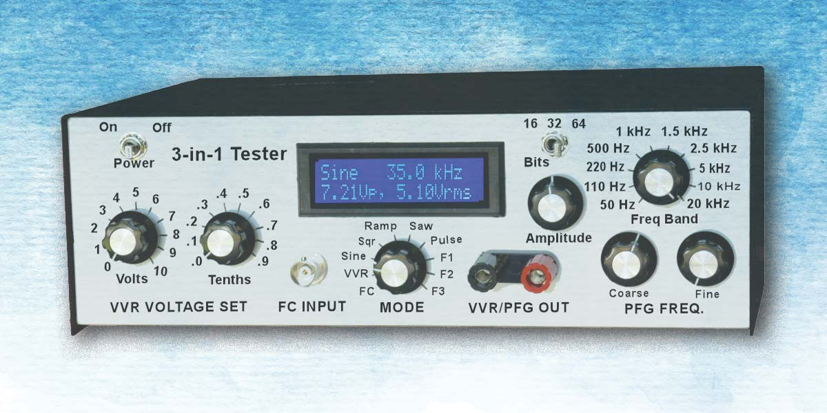 A 3-in-1 Tester for Your Lab