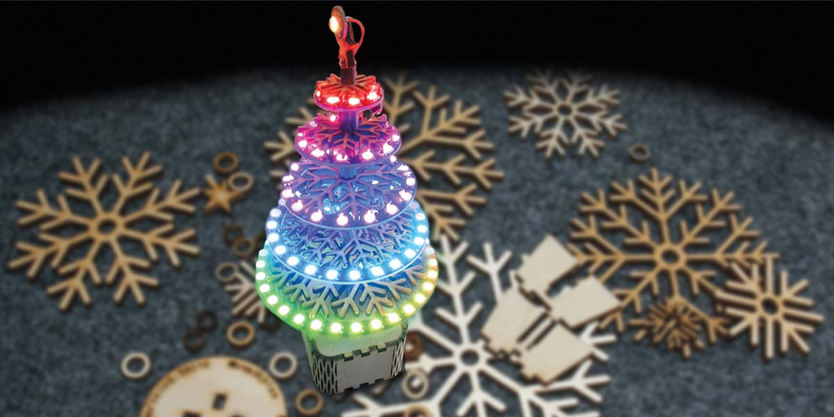 Build a NeoPixel LED Tree | Nuts & Volts Magazine