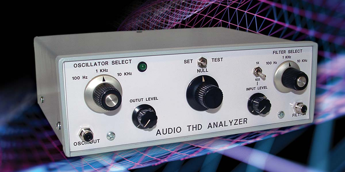 Build a Basic Audio Distortion Analyzer