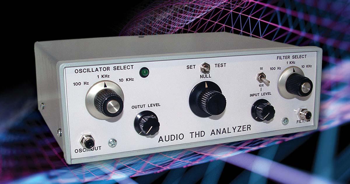 build a basic audio distortion analyzer nuts \u0026 volts magazine