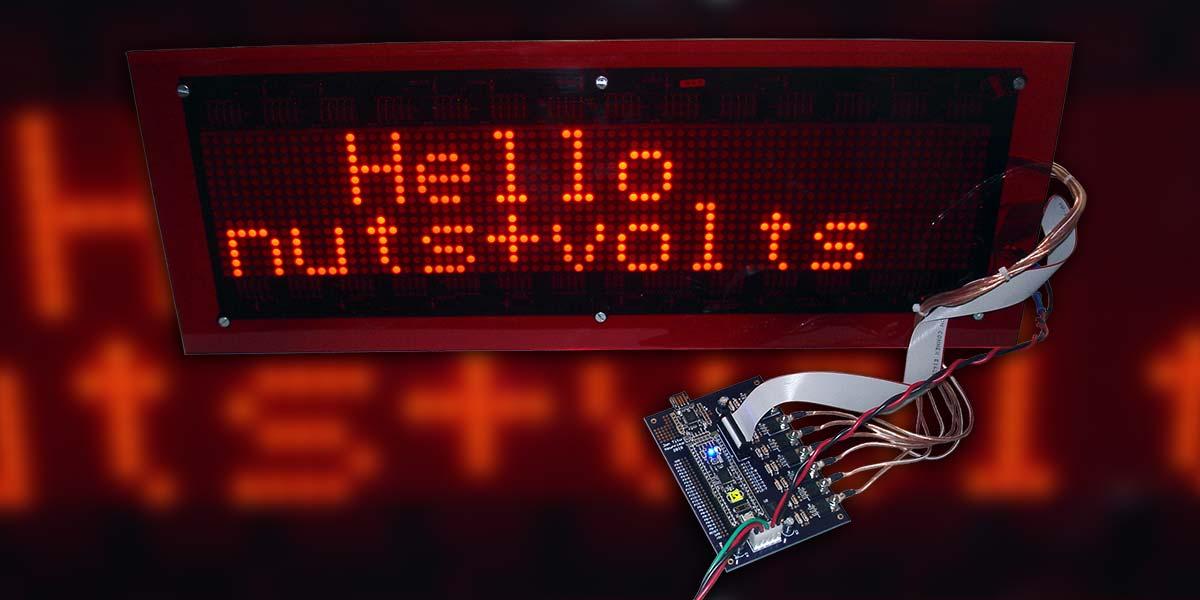 Create an LED Sign Controller