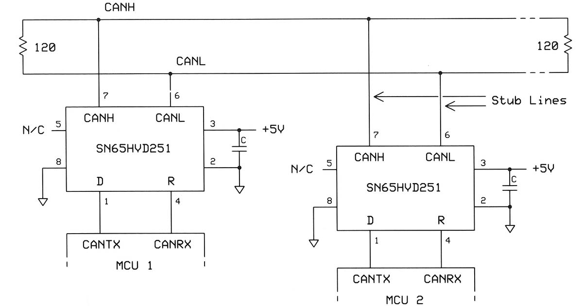 [DIAGRAM_1JK]  Take a CAN Bus for a Spin | Nuts & Volts Magazine | Titus Wiring Diagram |  | Nuts & Volts Magazine