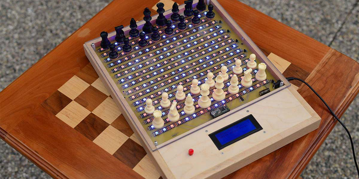 An Electronic Chessboard Using RGB LED Strips and  Hall  Effect Sensors — Part 2
