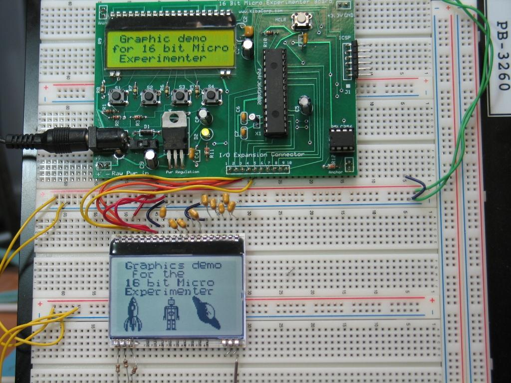 Building Your Own Bitmaps And Animation For The 128x64 Graphics Kit Transistor Logic Or Gate