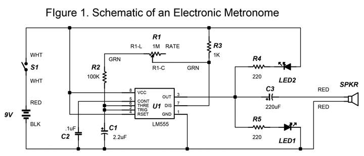 build an electronic metronome nuts volts magazine rh nutsvolts com Amplifier Circuit Amplifier Circuit