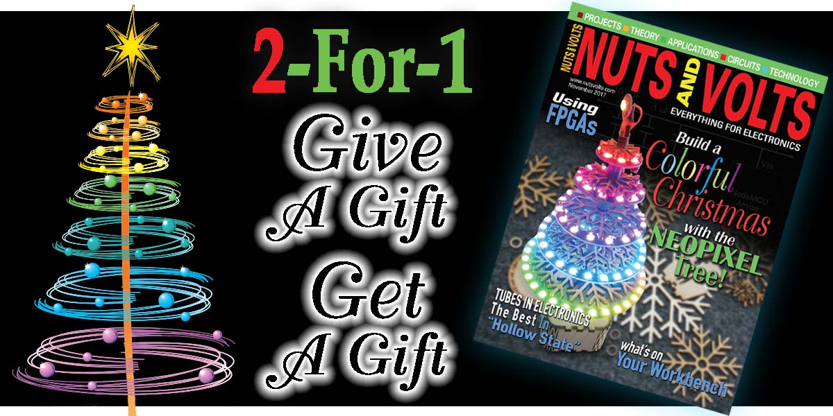 2-For-1 Holiday Subscription Special Offer — Give A Gift - Get A Gift!