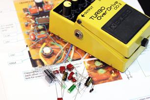 Guitar Effects Pedal Mod Kit