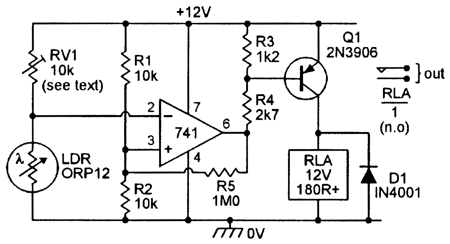 Light Sensitive Circuits Nuts Volts Magazine Pin On Dc Power Source Schematic Symbol