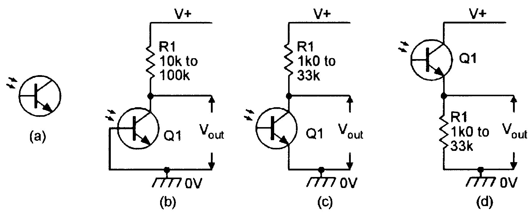 Light Sensitive Circuits Nuts Volts Magazine Make A Simple Ic 741 Smoke Detector Circuit Schematic Diagram Phototransistors