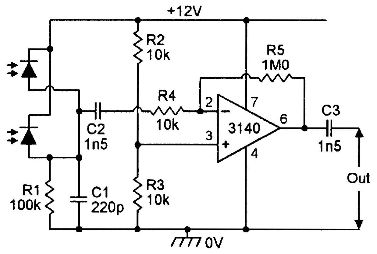 Light Sensitive Circuits Nuts Volts Magazine Components Of A Sound Level Meter Schematic Ir Pre Amp
