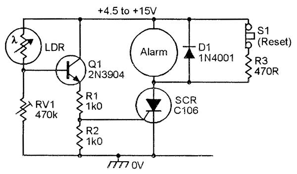 figure 10  water-activated alarm
