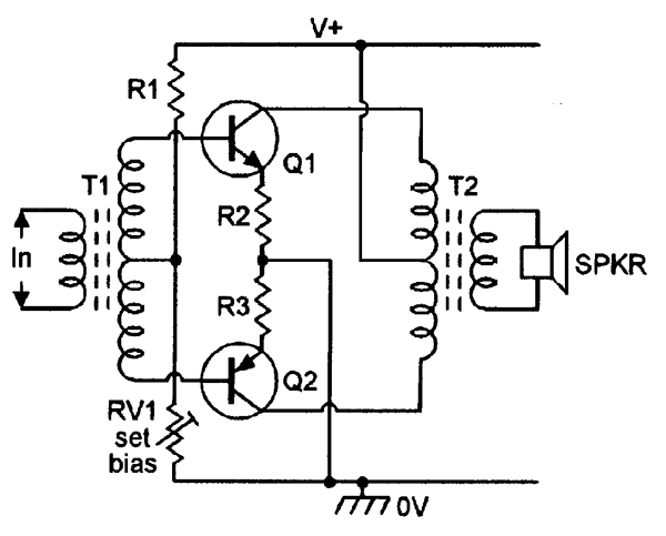 audio power amplifier circuit diagram imageresizertool com LM386 Circuit Audio Amplifier 1W Audio Amplifier Circuit Diagram