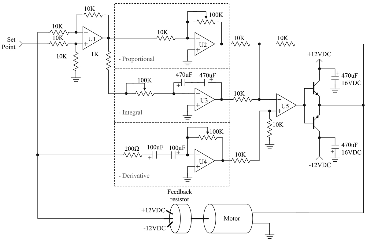 Hitec Servo Wiring Diagram The Pid Controller Part 1 Nuts Volts Magazine Schematic