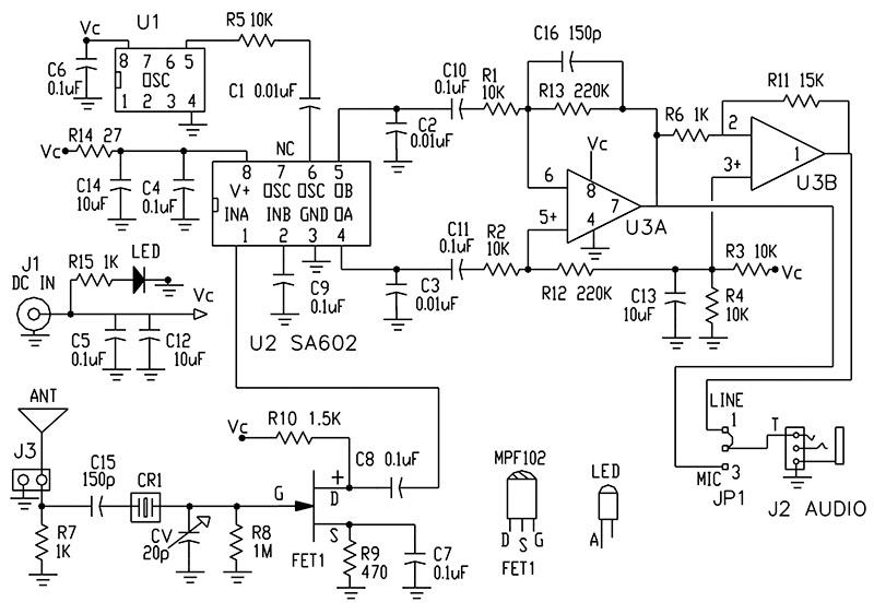 field strength meter circuit diagram radios en 2018 t