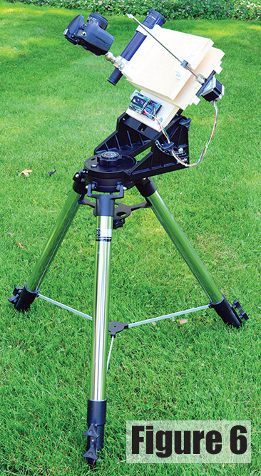 A Barn Door Tracker For Astrophotography Nuts Volts Magazine