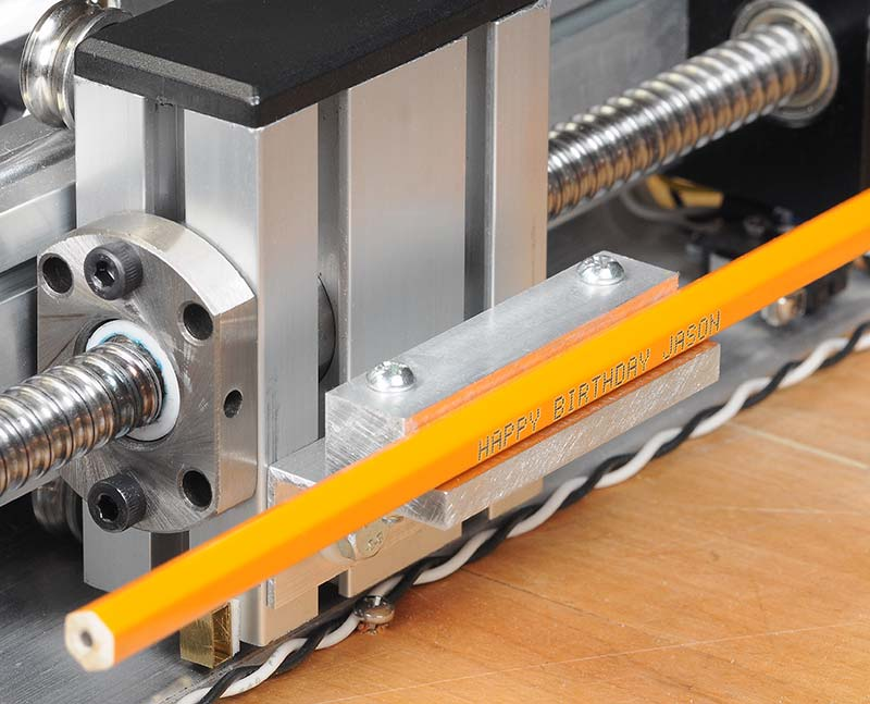 Build the Laser Pencil Engraver | Nuts & Volts Magazine