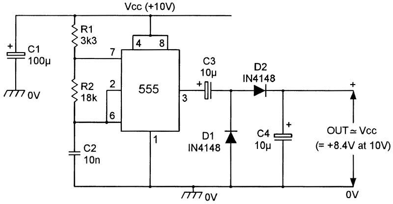 dc voltage converter circuits nuts volts magazine rh nutsvolts com Voltage Tripler Schematic Voltage Multiplier Circuit Diagram